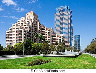 californie, ville, siècle