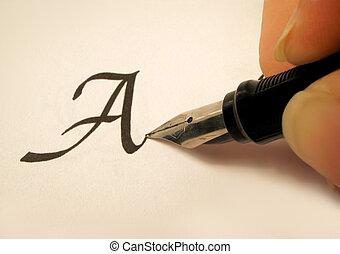 caligrafia, 2