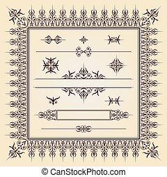 caligraphic, communie, 002, ontwerp