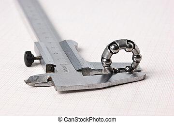 caliper and bearing