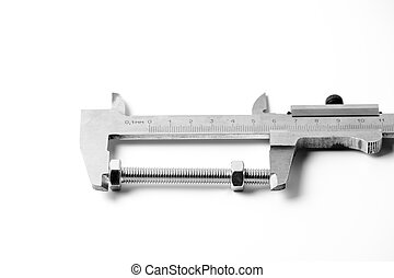 Caliper and bolt