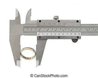 Caliper - Measuring a ring