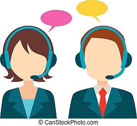 Call Center Avatar