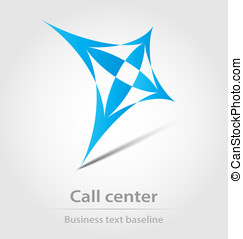 Call center business icon