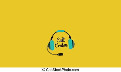 call center design, Video Animation HD1080