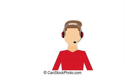call center design, Video Animation