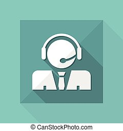 Call center icon