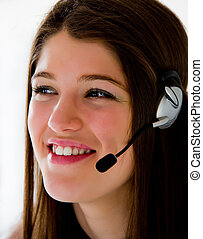 Call center operator business