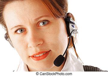 Call centre executive