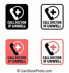 """""""Call doctor if unwell"""" 27/7 medical service for sick and ..."""