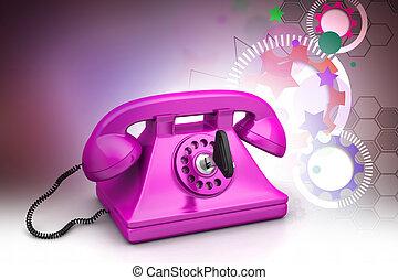Call now concept