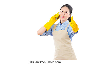 call now for good house cleaning services