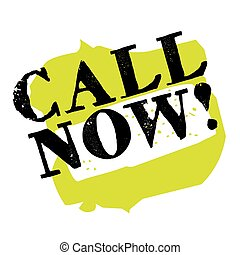 Call now sticker