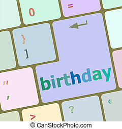 call some party fun with the computer button birthday