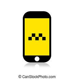 Call taxi icon