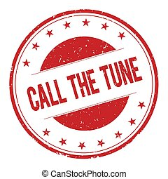 CALL-THE-TUNE stamp sign