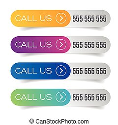 Call us button set