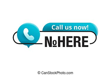 Call us now! Block for phone number