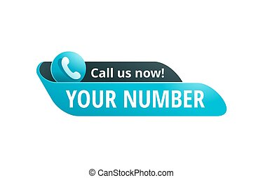Call us now! Catchy web button