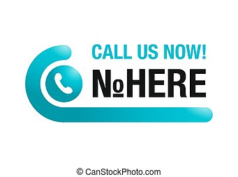 Call us now web button - template for phone number