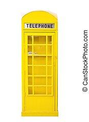 callbox yelow on white background