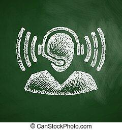 calldesk, pictogram