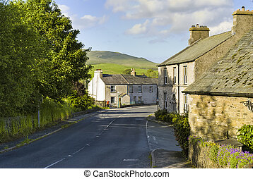 calle de la aldea