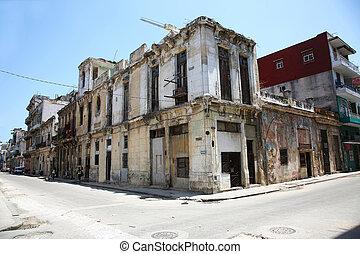 Calle Escobar in Centro Habana district, Cuba