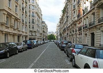 calle, paris.