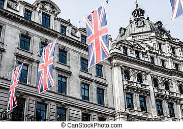 calle regent, es, uno, de, el, mayor, compras, calles, en, europa