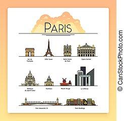 calles, ciudad, arte, turista, edificios, popular, set.,...