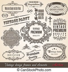 Calligraphic Element Border Corner