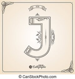 Calligraphic Fotn with Border