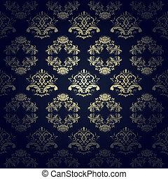 calligraphic seamless pattern