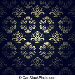 calligraphic seamless pattern
