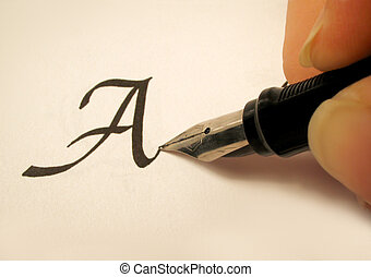 calligraphy 2 - calligraphy pen and writing