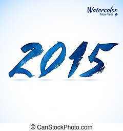 Calligraphy 2015 sign - Calligraphy 2015 Happy New Year...