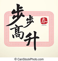Calligraphy Chinese Good Luck Symbols - Calligraphy Chinese ...