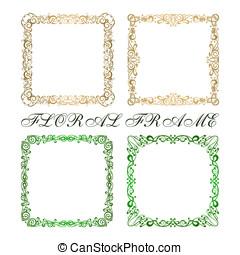 Calligraphy frame