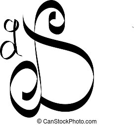 Calligraphy Letter L New Font By Kamal