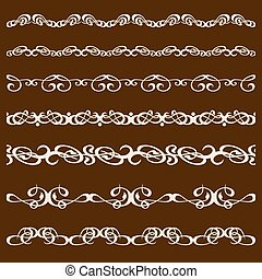 calligraphy ornament frame set-06.eps