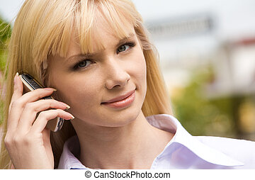 Calling female