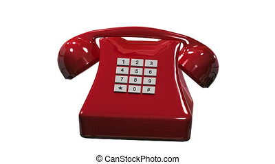 Calling phone alpha channel - Animation calling phone alpha...