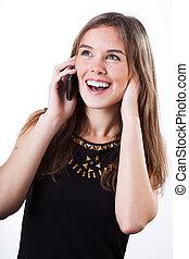Calling phone