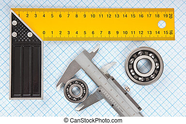 callipers with bearing