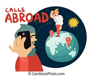 Calls Abroad Composition - Calls abroad composition with...