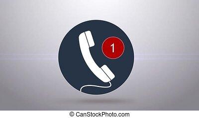 calls., manqué, appelle, beaucoup
