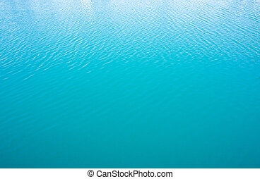 Calm blue sea water surface