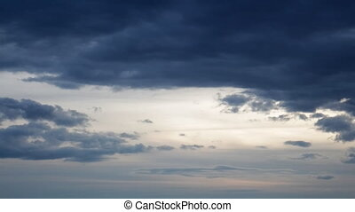 Calm Darkening Clouds - As you can see they are calm%u2026...