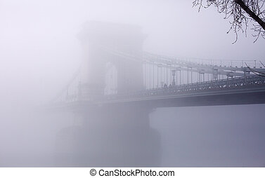Calm scene of the bridge
